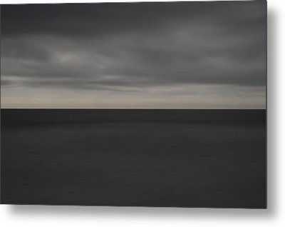 Cloudy Afternoon On Beach Metal Print by Catherine Lau