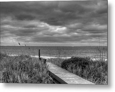 Cloudy Day In Paradise Metal Print by David Paul Murray