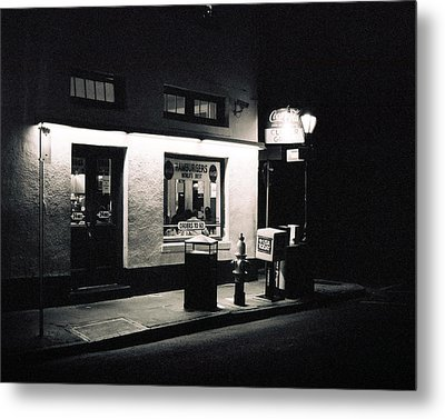 Clover Grill New Orleans Metal Print