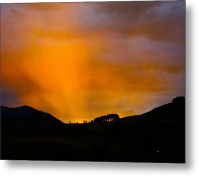 Co Alpenglow Metal Print