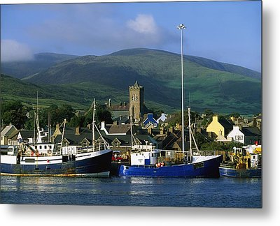 Co Kerry, Dingle Harbour Metal Print by The Irish Image Collection