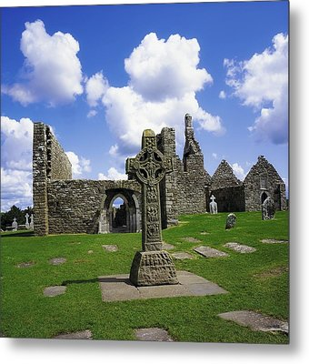 Co Offaly, Clonmacnoise Metal Print by The Irish Image Collection