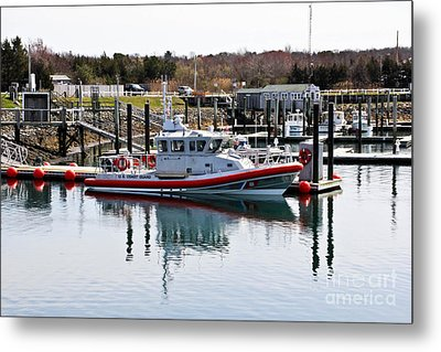 Coast Guard Metal Print by Extrospection Art