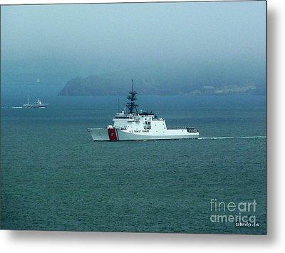 Coast Guard Ship Metal Print