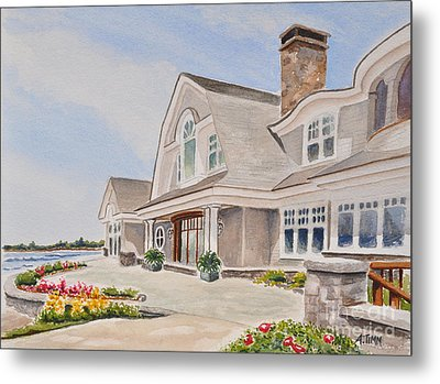 Coast Of Maine Metal Print by Andrea Timm