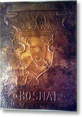 Coat Of Arms Bosnia  Metal Print by Mak Art