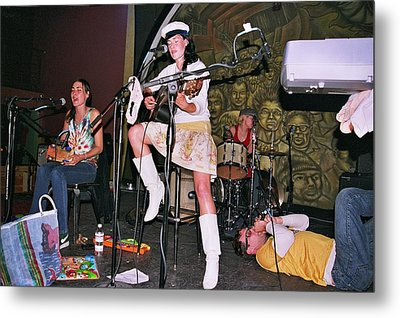 Cocorosie With Dave Sitek Metal Print