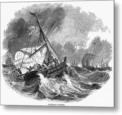 Cod Fishing, 1876 Metal Print by Granger