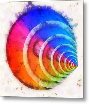 Code Of Colors 8 Metal Print by Angelina Vick