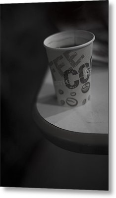 Coffee To Go Metal Print by Tal Richter