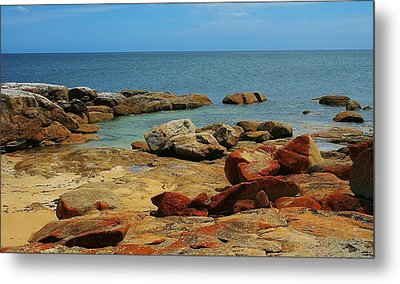 Coffin Bay Np 02 Metal Print by David Barringhaus