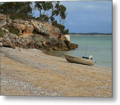 Coffin Bay Np Metal Print by David Barringhaus