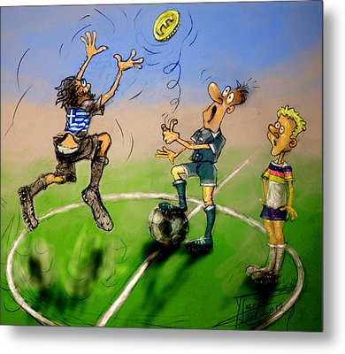 Coin Toss  Metal Print by Ylli Haruni