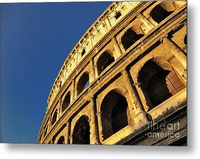 Coliseum. Rome Metal Print by Bernard Jaubert