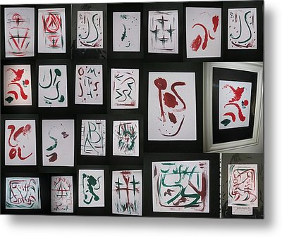 Collage Metal Print by Mike Gough