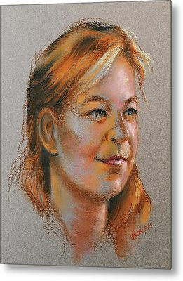 Colleen Metal Print by Peggy Wrobleski