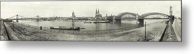 Cologne - Germany - C. 1921 Metal Print by International  Images