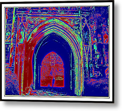 Color Abstraction-35 Metal Print by Anand Swaroop Manchiraju