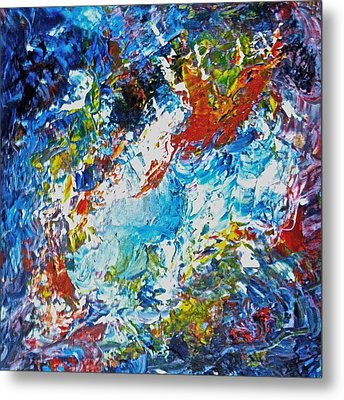 Color Explosion No Fifty Six  Metal Print by Ten Eyck Hunt