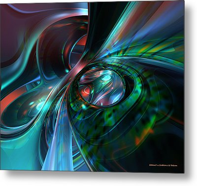 Color Fast Faces  Metal Print by G Adam Orosco