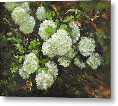Color Of White Metal Print by Katherine Tucker