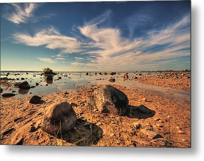 Metal Print featuring the photograph Color Rockscape by Coby Cooper