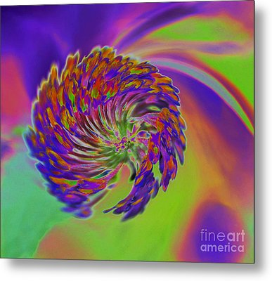 Metal Print featuring the photograph Color Splash by Cindy Manero
