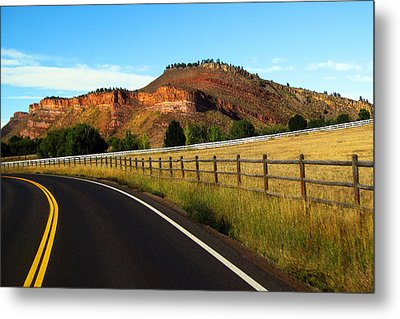 Colorado Curve Metal Print by Ric Soulen