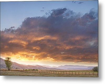 Colorado Evening Light Metal Print by James BO  Insogna