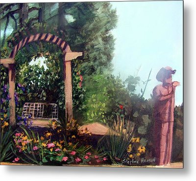 Colorado Flower Garden 2 Metal Print by Stephen  Hanson