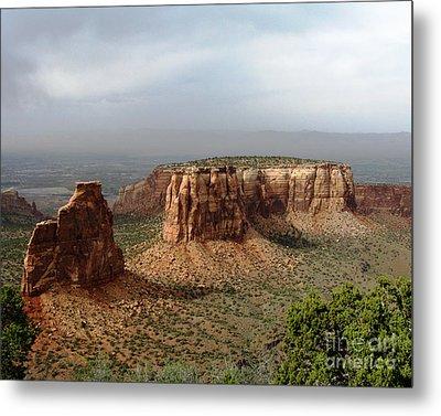 Colorado National Monument Metal Print by Patricia Januszkiewicz