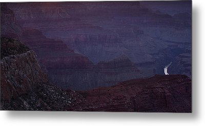 Colorado River At The Grand Canyon Metal Print by Andrew Soundarajan