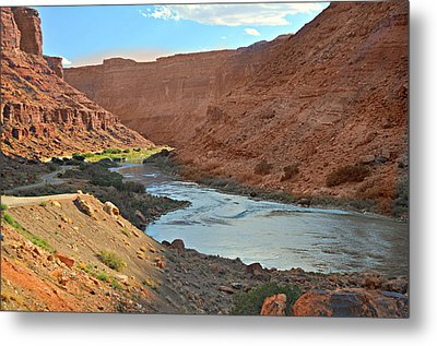 Colorado River Canyon 1 Metal Print by Marty Koch
