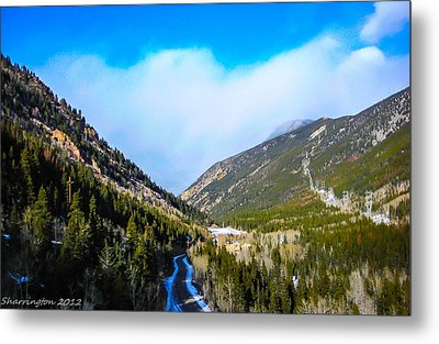 Metal Print featuring the photograph Colorado Road by Shannon Harrington