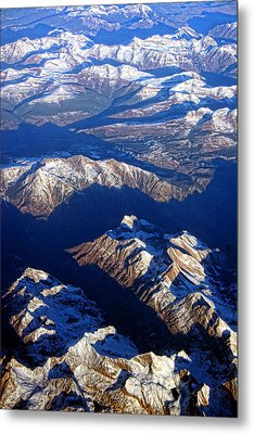 Colorado Rocky Mountains Planet Earth Metal Print by James BO  Insogna