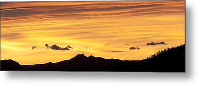 Colorado Sunrise Landscape Metal Print by Beth Riser