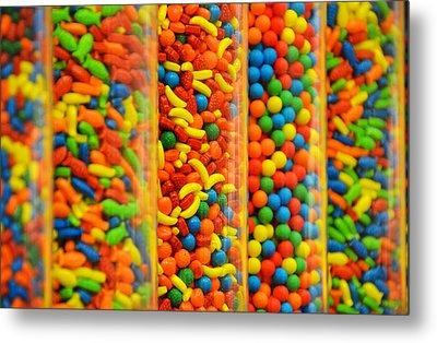 Colorful Candies Metal Print by Farah Faizal