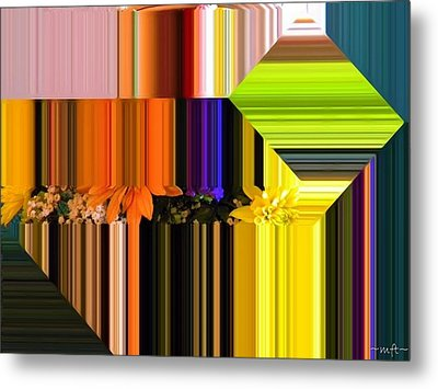 Colorful Kaleidoscope Metal Print by Michelle Frizzell-Thompson