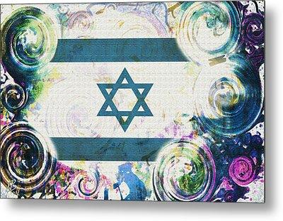 Colorful Land Of Israel Metal Print by Jenn Bodro