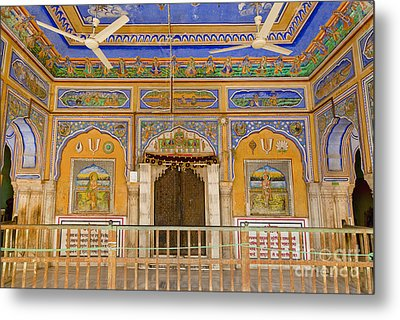 Colorful Palace Interior Metal Print by Inti St. Clair