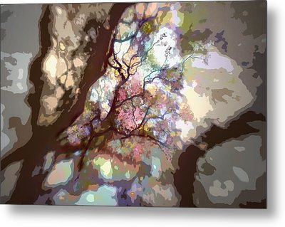 Colorful Tree Metal Print