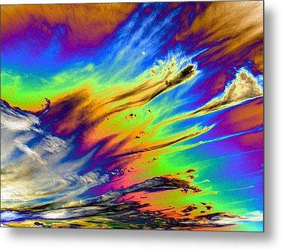 Colors Metal Print by Kathleen Nash