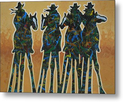 Colors Of Four Metal Print by Lance Headlee