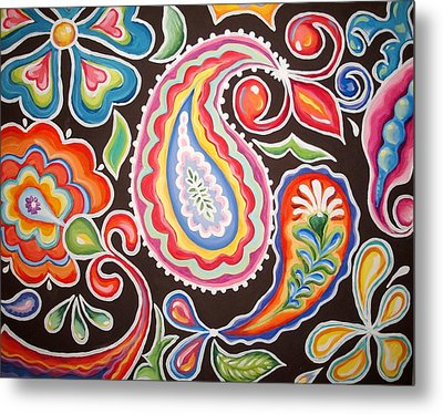 Colors Of Happiness Metal Print by Sandra Lett