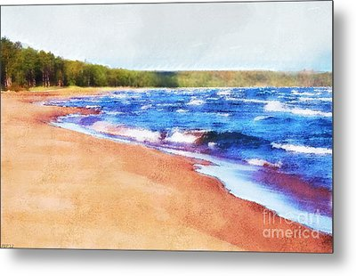 Metal Print featuring the photograph Colors Of Water by Phil Perkins