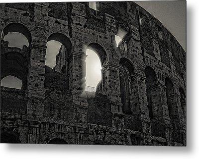 Colosseum Metal Print by Michael Avory
