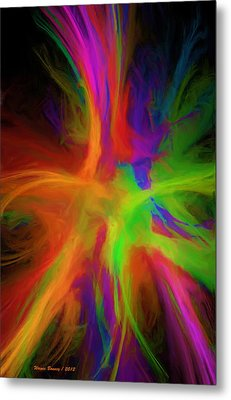 Colour Explosion Metal Print by Wayne Bonney