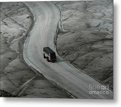 Metal Print featuring the photograph Columbia Icefield Glacier Adventure by Laurel Best