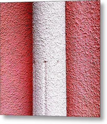 Column Detail Metal Print