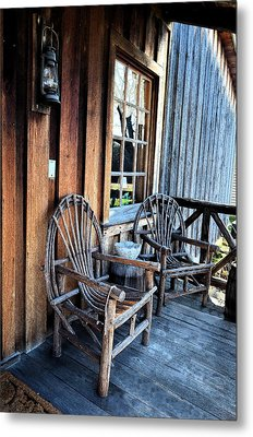 Come And Sit A While Metal Print by Sandi OReilly